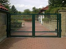 Vjezdová vrata dvoukřídlá bazar